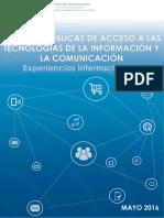 Políticas Acceso TIC