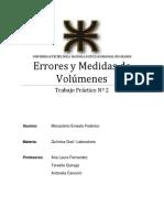 TP2 Errores y Medidas de Volumenes