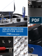 The Modal Shop Sound and Vibration Systems Selection Guide