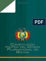 Consitucion Política del Estado Plurinacional de Bolivia en word