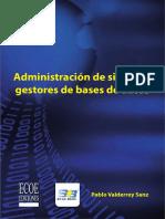Administracion de Sistemas Gestores de Bases de Datos