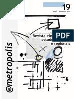 Revista e-metropolis n. 19 - O novo Recife e a Produção do Espaço Urbano na metrópole moderna