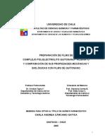 Preparación de Films de Complejo Polielectrolito Quitosano – Alginato y Comparación de Sus Propiedades Mecánicas y Biológicas Con Films de Quitosano