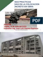 Colocacion de Concreto Asocem Trujillo II