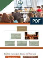 Diapositivas de Conferencia