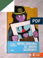 Nuevas aventuras del bandido Saltodemata
