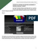 Instalacion de Sistema Web