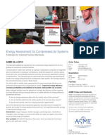 Energy Assessment for Compressed Air Systems