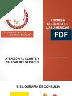 Presentación Atencion Al Cliente 1