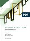 Haacke, Hans - Working Conditions. the Writings of Hans Haacke