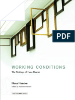 Haacke, Hans - Working Conditions. the Writings of Hans Haacke