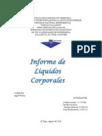 Trabajo de Liquidos Corporales
