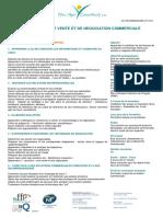 Techniques de Vente Et de Négociation Commerciale v111214