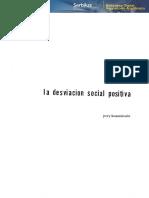 Desviación Social Positiva
