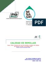 Calidad de Semillas (Chiclayo 2015)