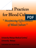 Best Practices for Blood Culture_selayang Hospital - Today @