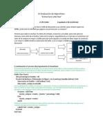 III Evaluación de Algoritmos Jose Galvao