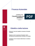 fiscalità e scelte di struttura