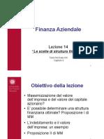 scelte di struttura finanziaria