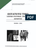 Estatutos Tipo Centro Cultural Social y Deportivo