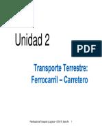 Unidad 2 - Transp Carretero de Cargas 2011