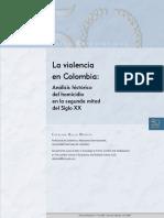 La violencia en Colombia - Catalina Bello Montes