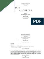 Viaje a Lourdes y Fragmentos
