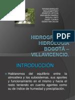 HIDROGRAFÍA Bogotá – Villavicencio