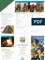 2017 Citizens Fire Academy Application WEB