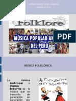 Diapositiva Musica Folklorica