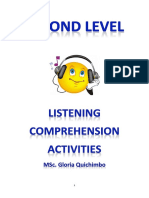 2nd Level Listening Comprehension