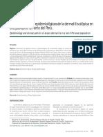 Dermatitis Atopica en Perú