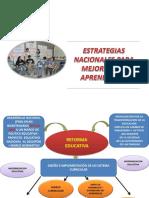 1 Estrategias Nacionales Para El Logro de Aprendizajes