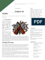 A História e a Origem Do Violão _ Blogmax