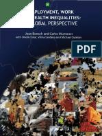 EMCONET Empleo Trabajo Desigualdades en Salud Una Visión Global Benach & Muntaner 2010 DSS Comisión