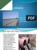 Rieles en Mineria procesos exogenos