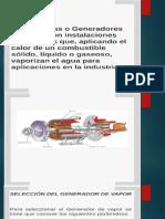 seleccion de generadores de vapor