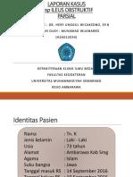 PPT Lapsus Ileus Obstruktif Parsial