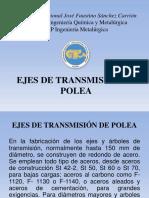 Ejes de Transmisión de Polea