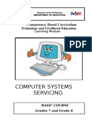 Computer Systems Servicing Learning Module k to 12 | Computer Data