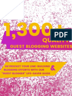 1300 Guest Blogging Websites Version 0.012 1