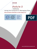 Icdl-module2 Using the Computer & Managing Files