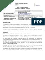 Guianº3 Biologia LCCP 1ºMedio