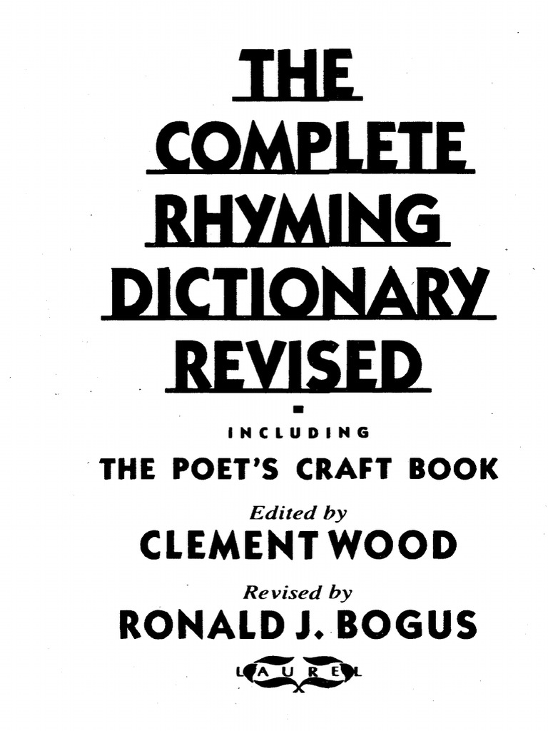 Clement-Wood-The-Complete-Rhyming-Dictionary-Revised-PDF pdf