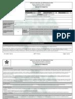 Proyecto Formativo 1301046 Negociacioon de Productos Colom