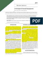 Dexamethasone Use in Hypoglicaemia