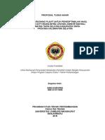313086665 Proposal Tugas Akhir Crushing Plant