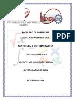 247999188 Monografia Matrices y Determinantes