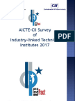 About AICTE-CII Indpact Survey 2017