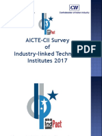 About AICTE-CII Indpact Survey 2017